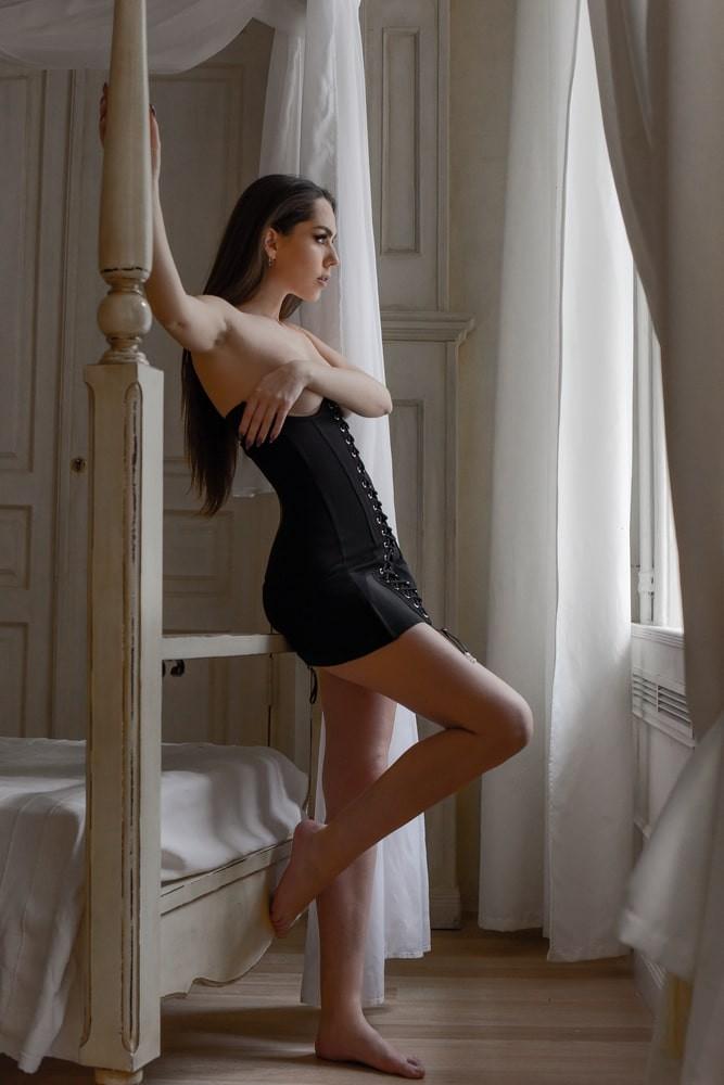 "Платье - корсет на шнуровке ""Luisa"""