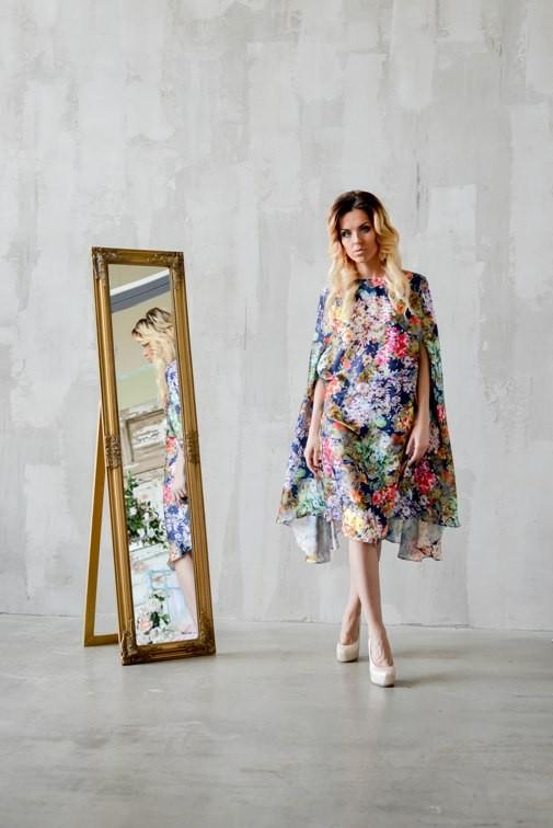 Платье-кейп