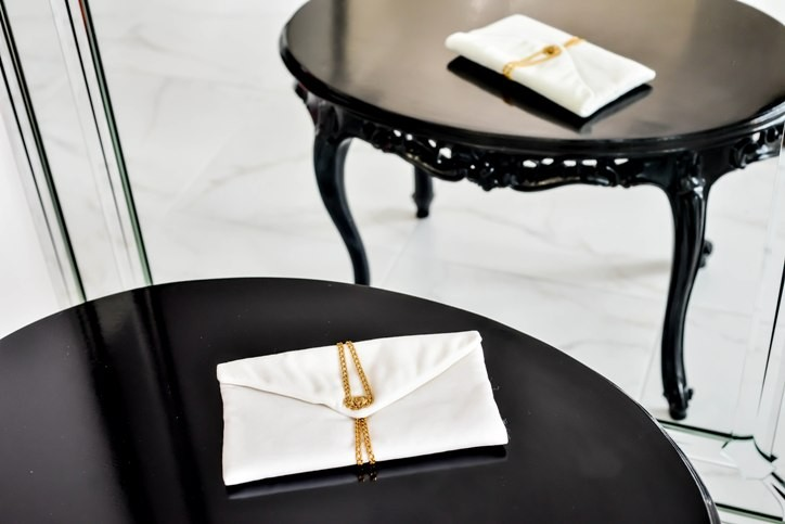 Клатч-конверт (White)